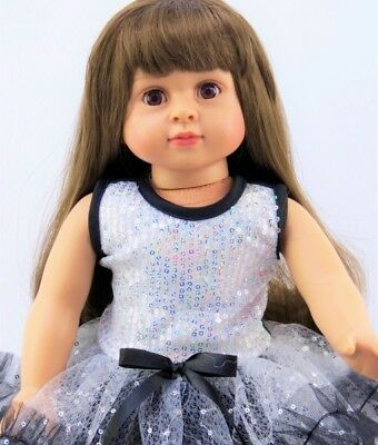 """Black Patent Tap//Jazz Dance Shoes Fits 18/"""" American Girl Doll *"""