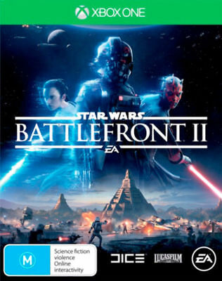 Star Wars Battlefront II 2 with bonus DLC Xbox One Game EA Brand New In Stock