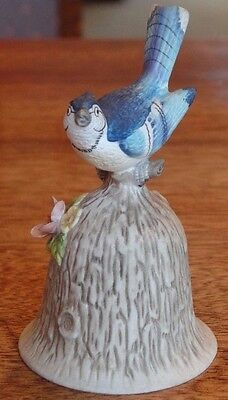 "Towle Fine Bone China Blue Bird 4.5"" Porcelain Bell"