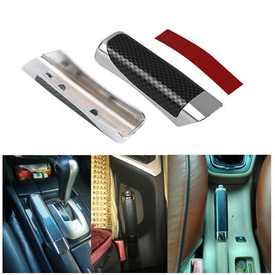 For Universal Car Accessory Hand Brake Carbon Fiber Style Protector Cover TOP