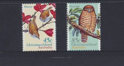 Christmas Island 1996 Land Birds Set 2
