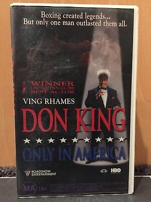 Don King - Only In America - VHS