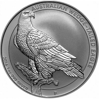 Perth Mint 2016 Wedge-Tailed Eagle 1oz Silver(Sealed roll of 20) 5% off P5OZZIE