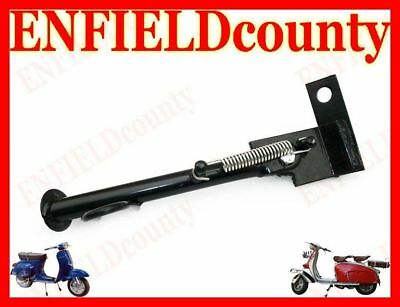 Brand New Vespa Scooter Black Powder Coated Side Stand Universal Fitting @de