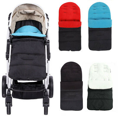 Windproof Babies Infant Sleeping Bag Cold-proof Stroller Carriage Mat Foot Cover