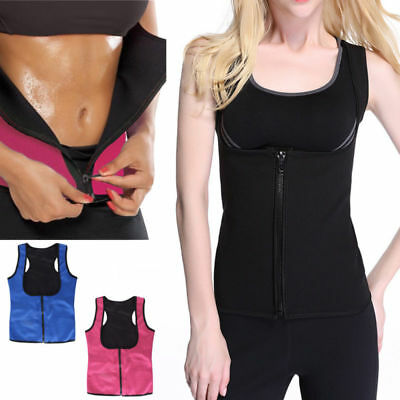 Neoprene Slimming Thermo Sauna Belt Body Shaper Vest Sweat Hot Waist Cincher