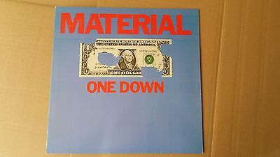 Material ‎– One Down - LP 1982 (Bill Laswell, Archie Shepp, Fred Frith, ... )