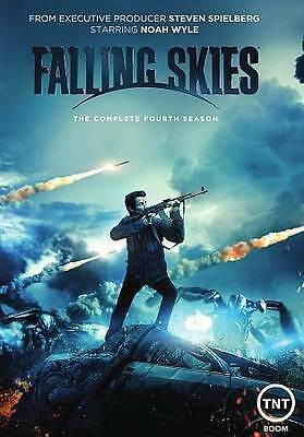 Falling Skies: The Complete Fourth Season (DVD, 2015, 3-Disc Set) NEW & SEALED