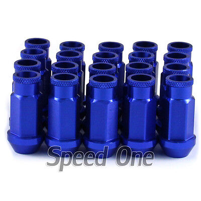 Car M12 1.5mm  Racing Wheel Tuner Lug Nuts 20pc for Acura