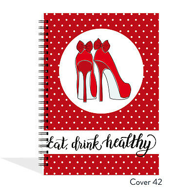 A5 food diary, slimming world compatible, diet, journal, weight loss, tracker 42