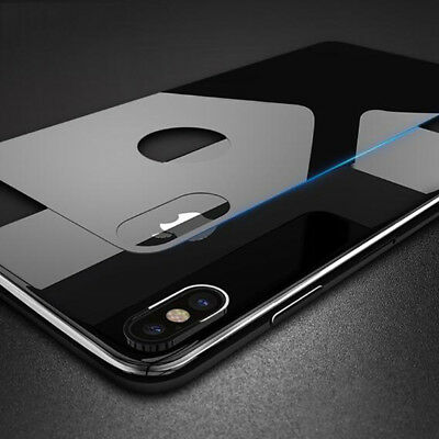 For iPhone 10 X Thin Tempered Glass Film Rear Back Protector 3D Curved Covers