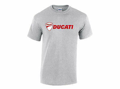 Ducati   Motorcycle   ..  T Shirt  ....  Bike    Unisex & Ladies    Racing