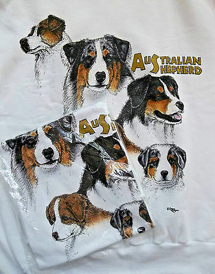 Australian Shepherd Sweatshirt & T-shirt Set Small ( 34 - 36 )