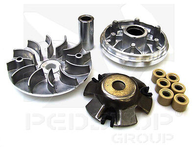Chinese Import Scooter 125cc Front Drive PULLY VARIATOR KIT Roller Weights 125
