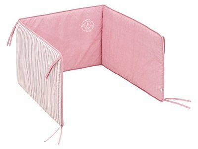 cambrass Denim Tour de Lit Rose 60 x 40 cm
