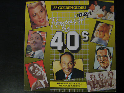"REMEMBER THE 40'S - Serie ""32 Golden Oldies"", Compilation, Gatefold"
