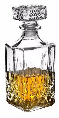 Whiskey Decanter – Glass Whiskey Wine Alcohol Gift