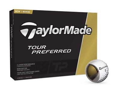 TaylorMade Tour Preferred 2016 Golf Balls White