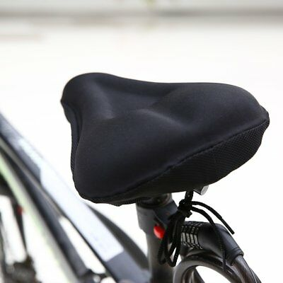 New Bike Bicycle Cycle Extra Comfort Gel Pad Cushion Cover for Saddle Seat YU
