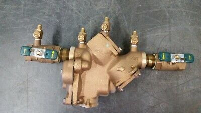 "Watts Reduced Pressure Zone Backflow Preventer, 909QT, 1"", Bronze, #88561"