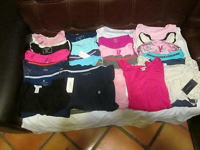 NWT Wholesale lot of 25 Nautica & More Women's Sleepshirts Assorted Colors & Szs