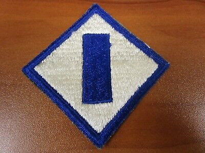 Vintage Original Patch WWII US Army 1st Service Command