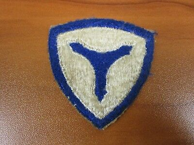 Vintage Original Patch WWII US Army 3rd Service Command
