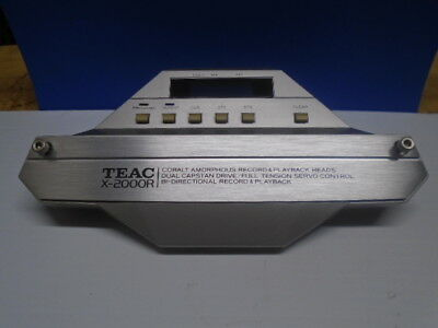 Teac X-2000R Reel To Reel Housing Assy Head With Mount Screws P/N 5800543900