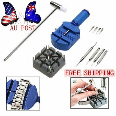 Useful 11pcs/Kit Watch Repair Watch Band Belt Remover Tools Watch Accessories B4