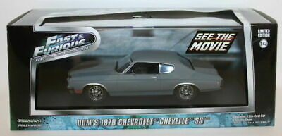 Greenlight 1/43 Scale 86227 - Fast & Furious Dom's 1970 Chevrolet Chevelle SS