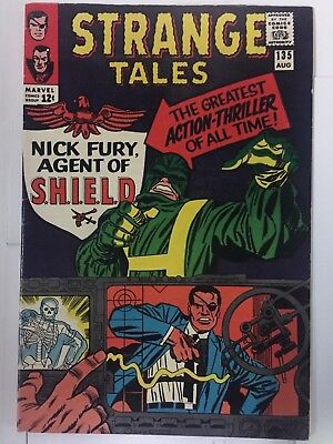 STRANGE TALES #135, (1965), 1st NICK FURY, Agents of SHIELD, Fine Shape, Marvel