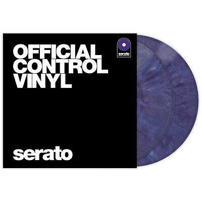 "Serato Performance Series Coppia Pair - Purple 12"" Control Vinyls Vinili"