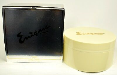 Enigma by Alexandra De Markoff  198g Scented Dusting Powder For Ladies   RARE