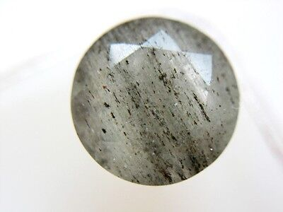 TURMALINQUARZ  -  ROUND FACET  -  9 mm  -  2,80 ct.