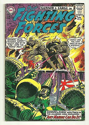 Our Fighting Forces (1954) #83 First Printing DC War Comic Gunner & Sarge VG!!