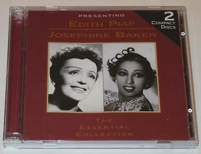 Edith Piaf/Josephine Baker; The Essential Collection (CD 97' Newsound 2000)