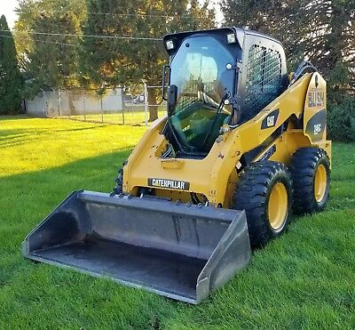 2010 Caterpillar 246C Only 1100 Hours New Tires Great Condition