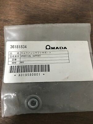 One Amada Spherical Shaft Support NB6, A019580801, new old stock