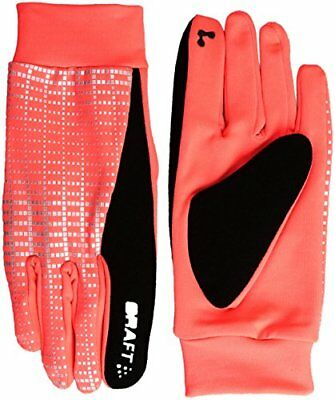 Craft CR1904311 Gants de Course à Pied Mixte Adulte, 2825 Shock/Reflective, FR