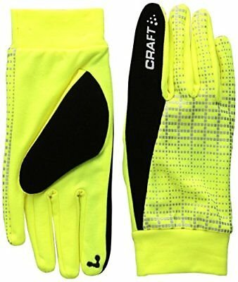 Craft CR1904311 Gants de Course à Pied Mixte Adulte, 2851 Flumino/Reflecti, FR