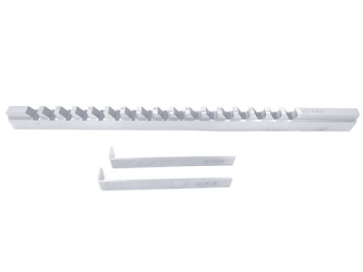 "3/8""- Style D, H.S.S. Keyway Broach, Length of Cut: 1-6"", 2 Shims"