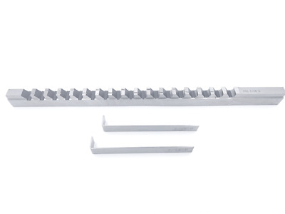 "7/16""- Style D, H.S.S. Keyway Broach, Length of Cut: 1-6"", 2 Shims"