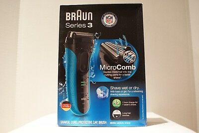 Braun Series 3-3040S Cordless Rechargeable Wet & Dry Men's Electric Shaver