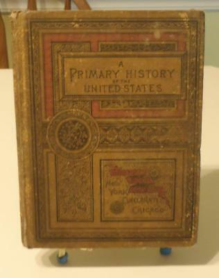 Primary History Of The United States Hb Illustrated Vintage School Book