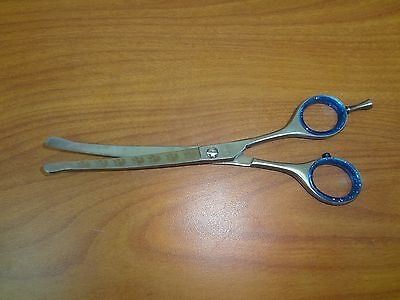 Pet-Dog-Cat-Professional-Grooming-Curved-Ball-Tip-Hair-Cutting-Razor-Scissors