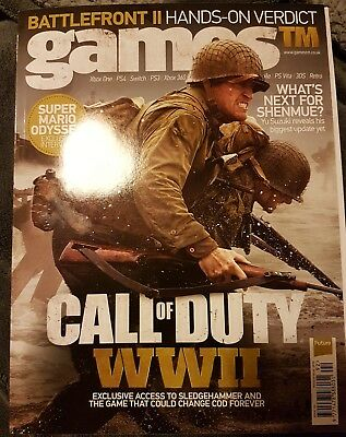 GAMES TM - ISSUE 192  Special Call Of Duty WWII Cover
