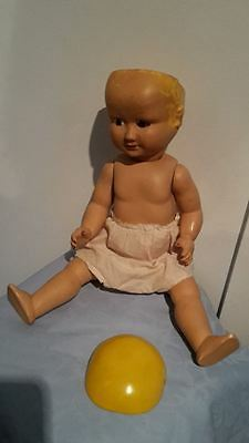 Vintage 1940s to 1950s Verna Doll Made in Australia
