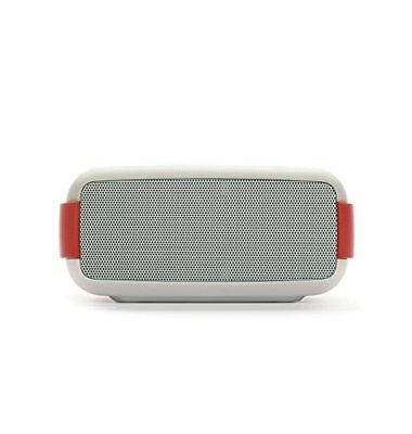Macrom Bluetooth + NFC Lautsprecher - EASY - Waterproof Wireless Speaker - Weiß