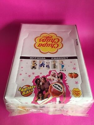 SPICE GIRLS 90s Lollipops SEALED CASE Box of 24 Chupa Chups Stickers VTG NOS NIB