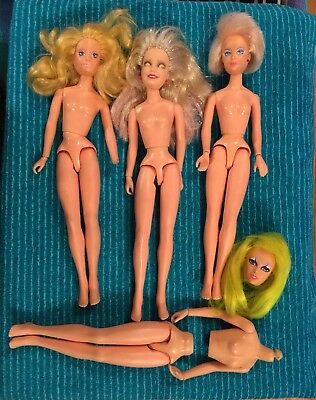 4 Jem Dolls For Repair Pizzaz Video Jerrica Glitter Jem